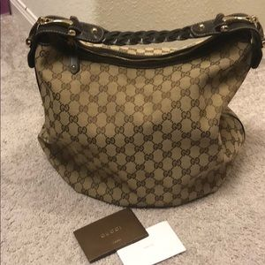 Authentic large Gucci bag